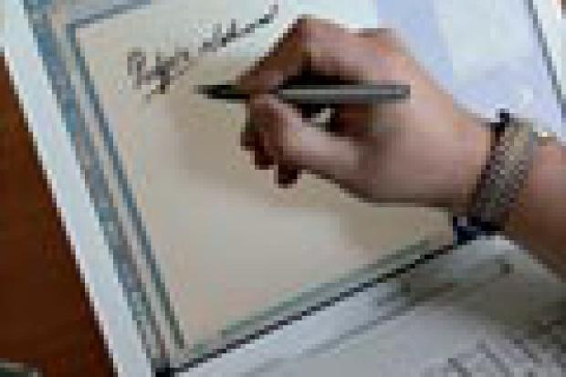 E-podpis na papierze