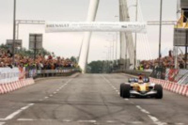 Tysiące gości ING Renault F1 Roadshow