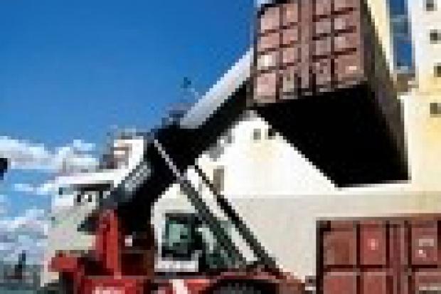 Przewozy intermodalne: kontenerowy rozbieg