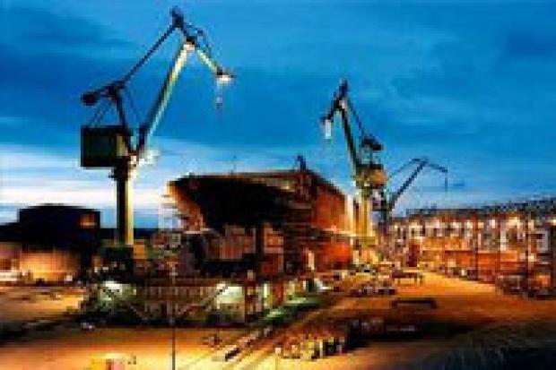 Przemysł stoczniowy tonie w zamówieniach