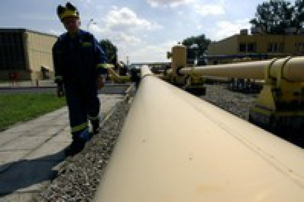 Wypadek na trasie gazociągu wstrzymał dostawy gazu do Finlandii na 6 godzin