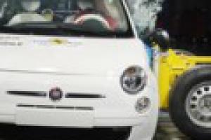 Fiat 500 zdobył 5 gwiazdek EuroNCAP