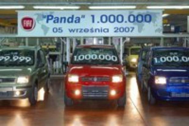 Fiat Auto Poland wyprodukował milion Pand