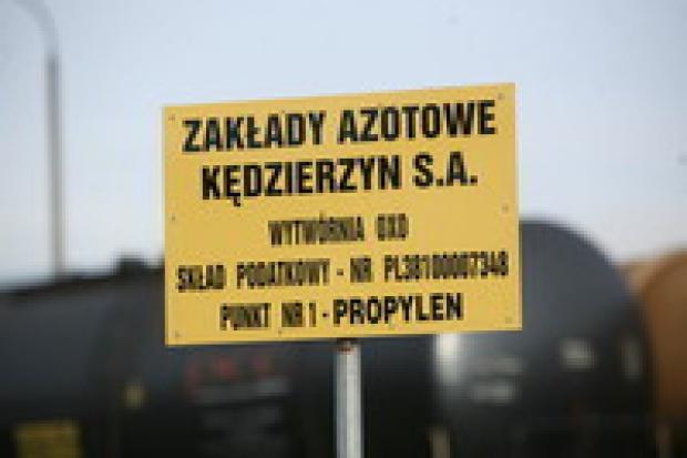 Prezes Zakładów Azotowych w Kędzierzynie złożył rezygnację