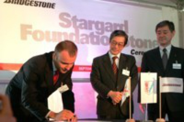 Zachodniopomorskie: rusza budowa fabryki Bridgestone