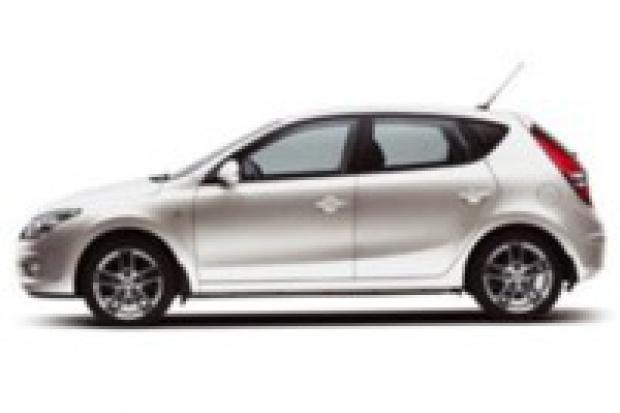 """Hyundai z zielonym """"i"""""""