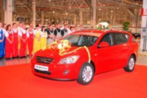 Słowackie zakłady Kia Motors wyprodukowały 100 000 cee'dów