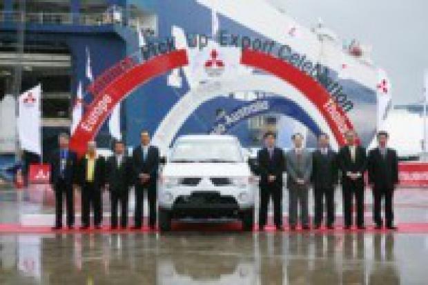 Mitsubishi: milionowy pickup eksportowany z Tajlandii