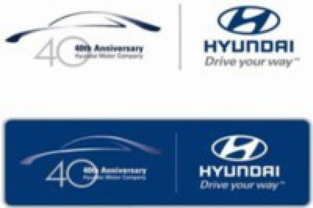 Hyundai przygotowuje urodziny - zaczyna ... od logo