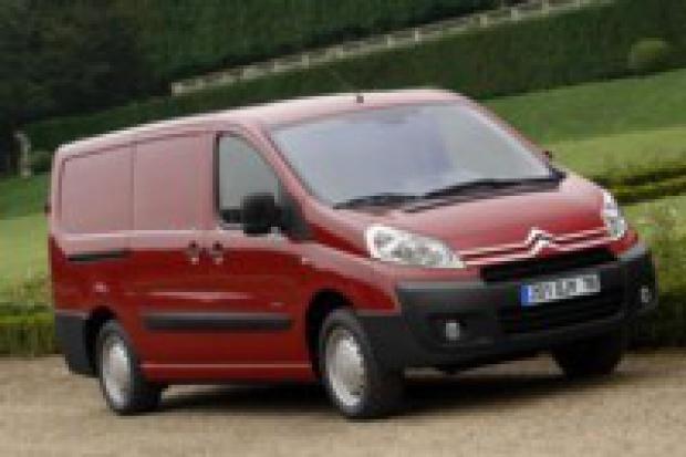 Citroen Jumpy samochodem dostawczym roku 2008