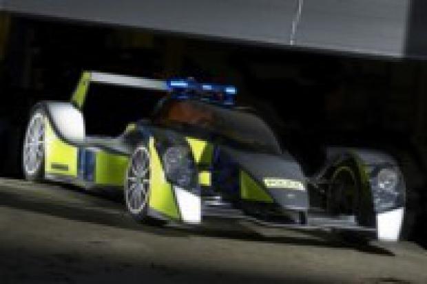 Caparo: najszybszy radiowóz świata