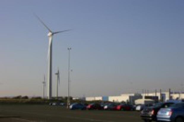 Nissan Sunderland i jego farma wiatrowa