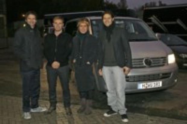 """Take That"" wybrali VW Multivana na europejskie tournee"