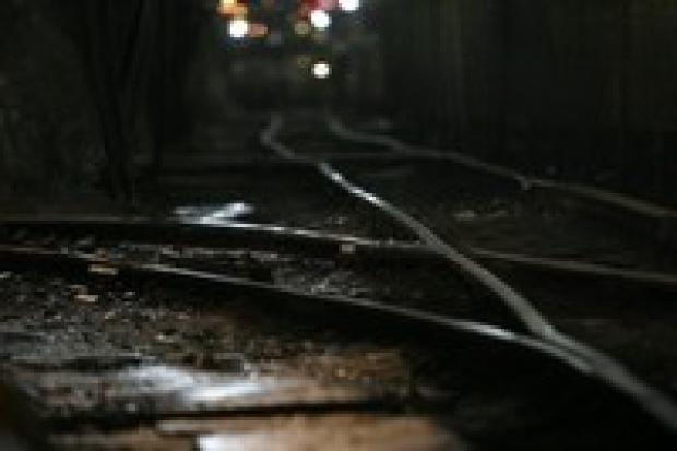 Donieck: kopalnia - cmentarz