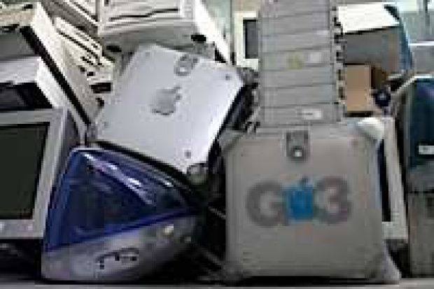 Minikomputer ze śmieci