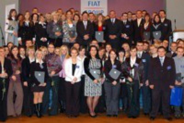 Fiat nagrodził dzieci swych pracowników