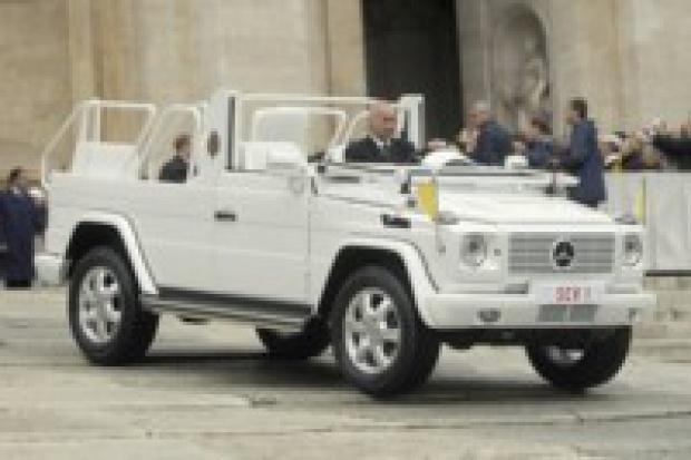 Nowy samochód Benedykta XVI