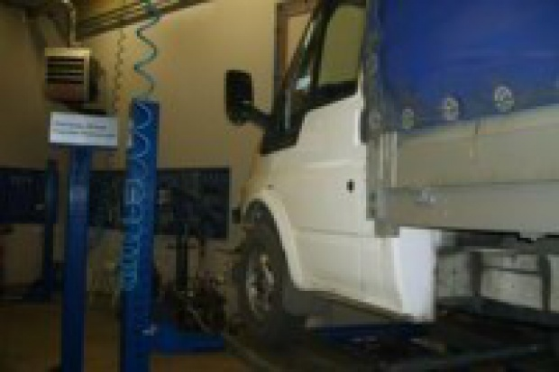 Pierwszy dedykowany serwis dla dostawczych Fordów na południu Polski
