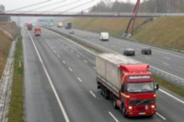 Stacje przy autostradach A2 i A4 w połowie 2008 roku