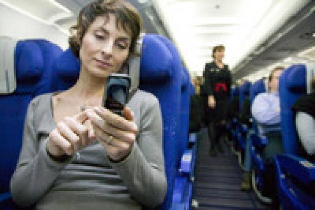 Air France zachęca do używania komórek w przestworzach