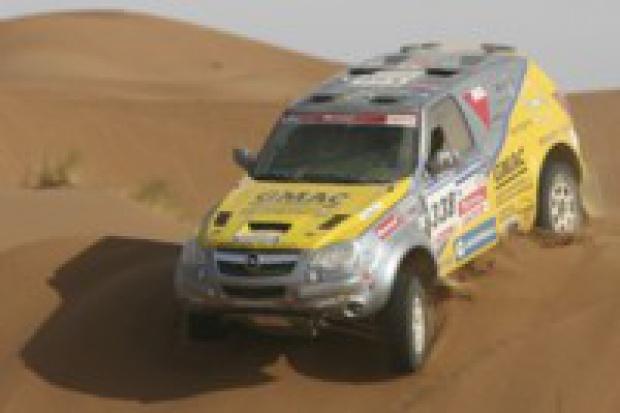 Opel Antara ponownie wyrusza na bezdroża Sahary
