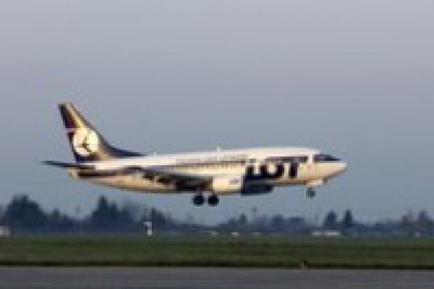 Pierwsze lotnicze połączenie regionalne