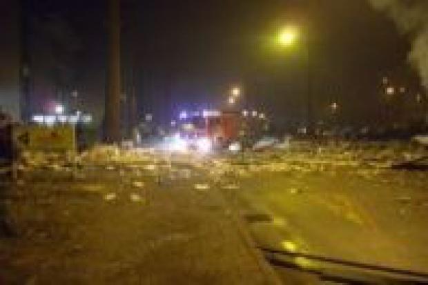 Nieszczelny gazociąg przyczyną wybuchu w Katowicach