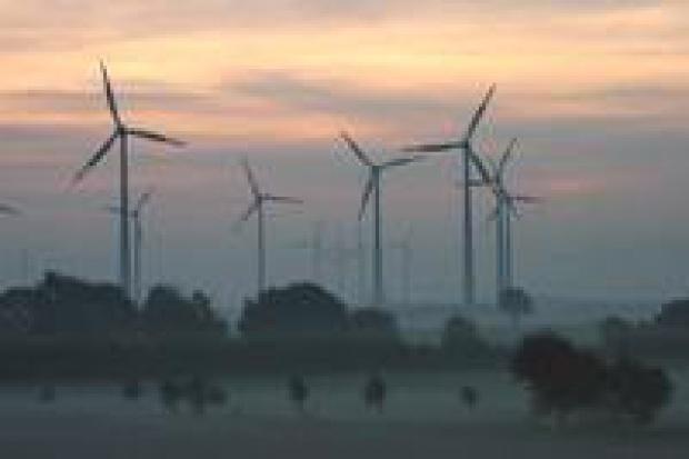 Chiny idą w energię wiatrową