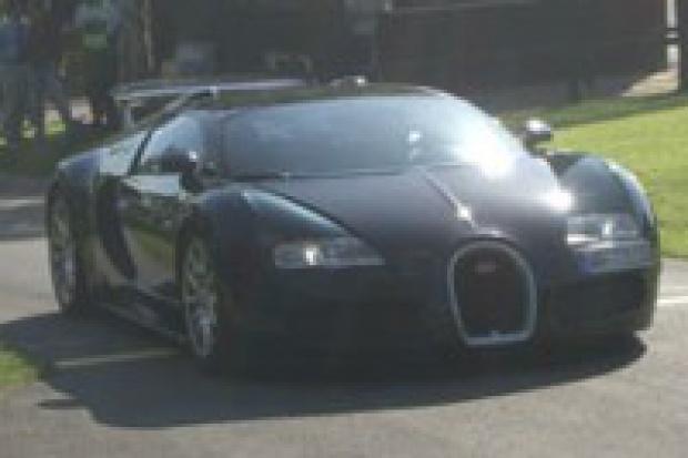 Bugatti Veyron w rankingu pojazdów używanych sprowadzonych do Polski