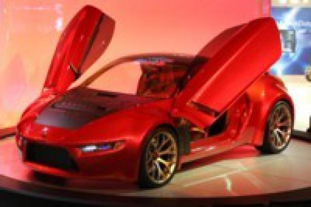 Concept-RA od Mitsubishi - sportowy diesel