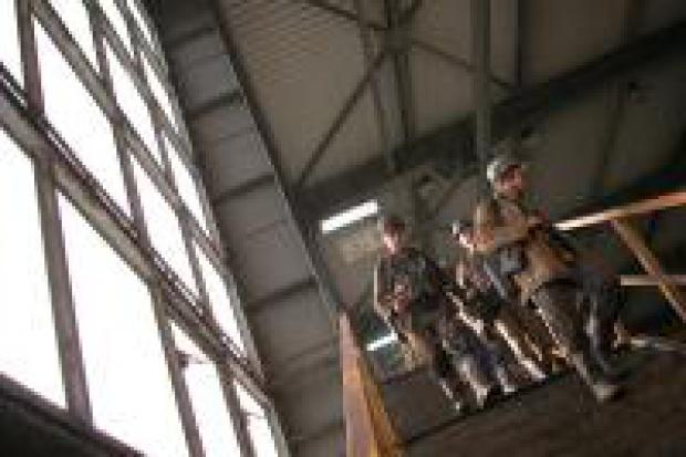 Akcja przeciwpożarowa w Budryku