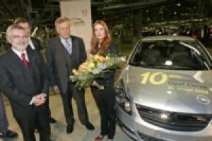 Opel Corsa numer 10 000 000 z Eisenach