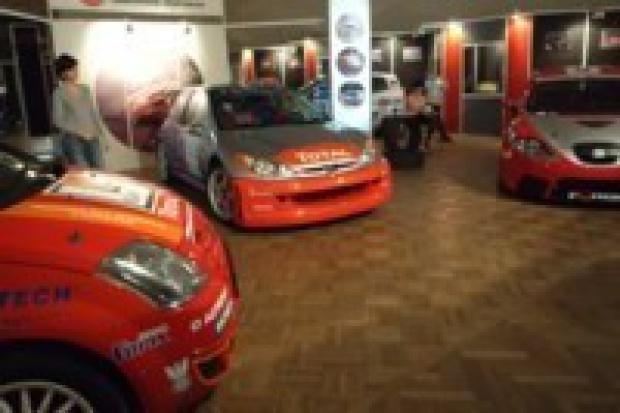 Peugeot 206 WRC w Muzeum Techniki