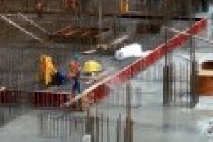 Betonowanie płyty fundamentowej nowego bloku energetycznego Elektrowni Bełchatów
