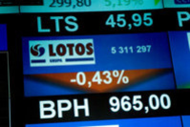 Kolejne akcje Lotosu na GPW w 2009 r.
