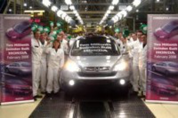 Honda w Swindon świętuje - wyprodukowano 2 miliony aut