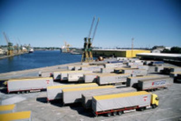 Strajk w Bałtyckim Terminalu Kontenerowym w Gdyni