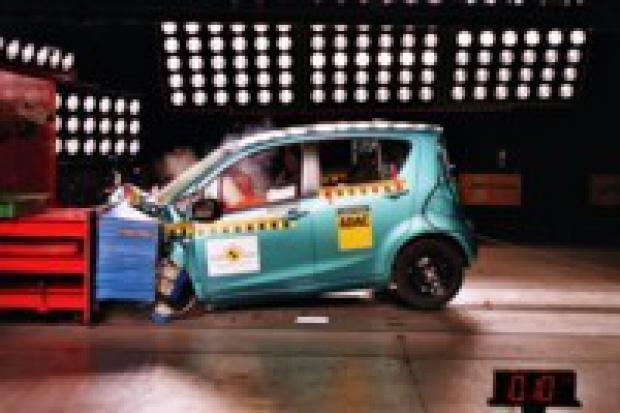 Cztery gwiazdki Euro NCAP dla Suzuki Splash