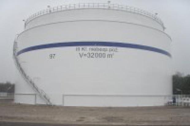 Nowe zbiorniki OLPP koło Bydgoszczy