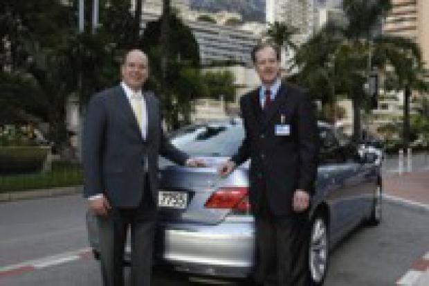 BMW Hydrogen 7 dla Księcia Alberta II