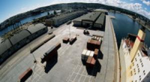 Port Gdynia rozpycha się na Bałtyku