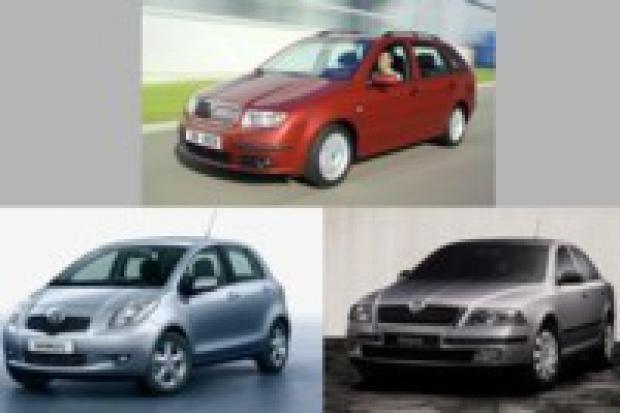 Lista przebojów modeli aut w Polsce