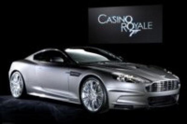 Wypadek samochodu agenta 007
