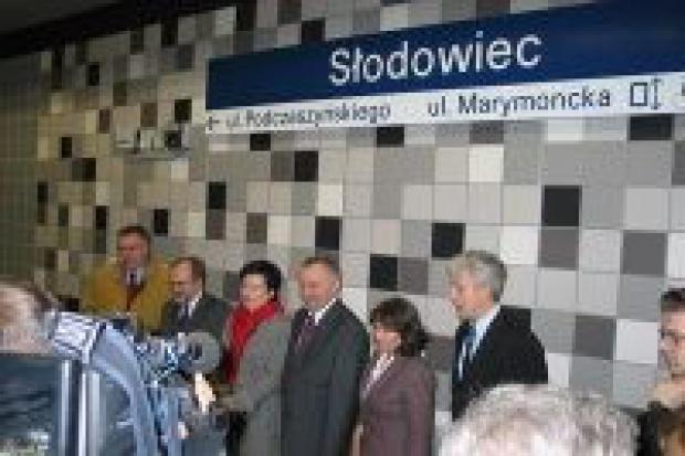 Metro Słodowiec już działa
