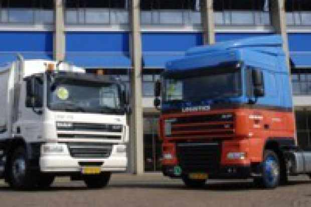 Pierwsze ciężarówki DAF CF i XF105 z silnikami  EEV