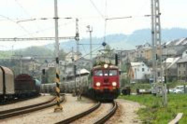 Pociąg z lokomotywami PKP Cargo wjechał na Słowację