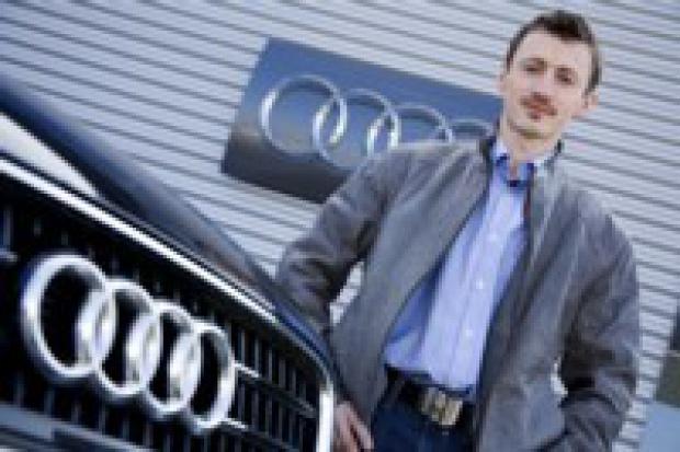 Adam Małysz i jego Audi