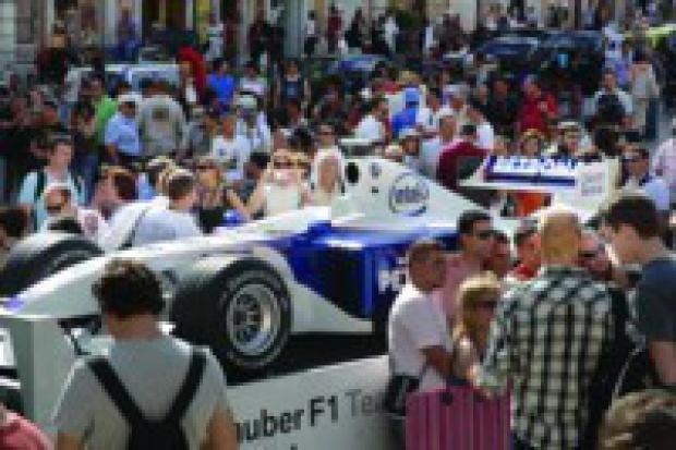 Pit Lane Park BMW Sauber F1 Team znowu w stolicy