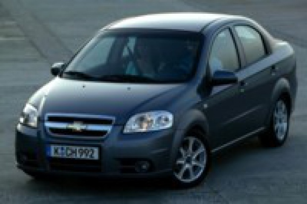 "Aveo z FSO pierwszym Chevroletem ""made in Europe"""