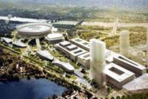 Wybrano projekt okolic Stadionu Narodowego